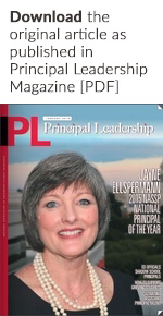 Principal Leadership Magazine cover (January 2015)