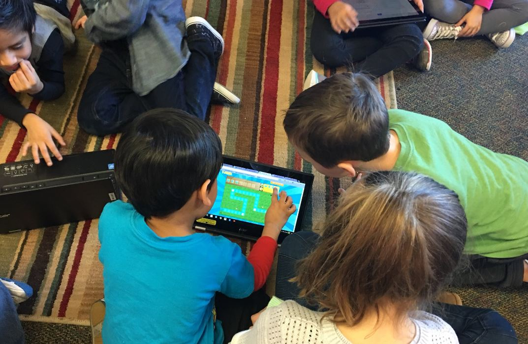 Hazelwood kindergarten 3rd grade hour of Code STEM laptop 1 12_2017