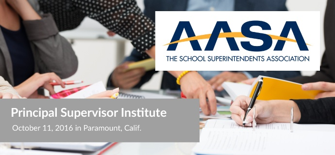 Principal Supervisor Institute, Oct 11, 2016 in Paramount, Calif.