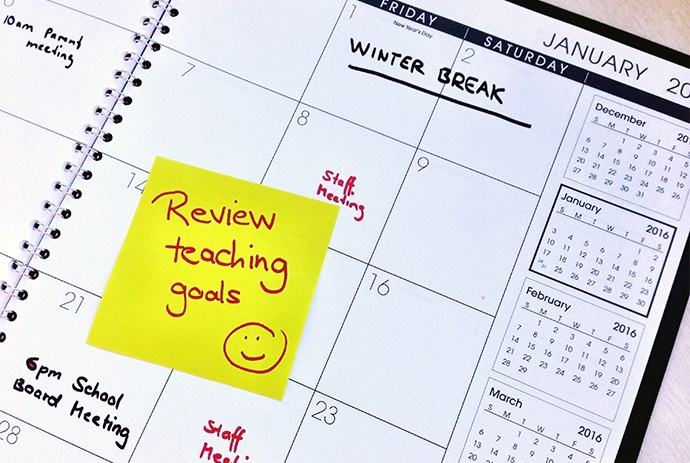 Teaching goals review